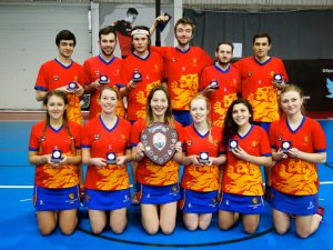 UOB 3rd Team are the BUCS National Shield Winners 2015